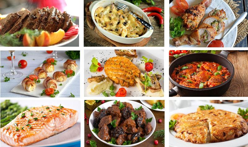 праздничные горячие блюда