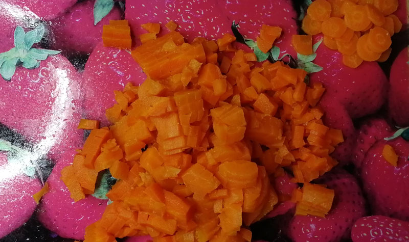 нарезка моркови