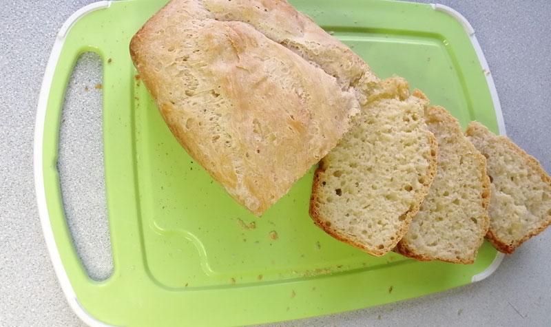 хлеб в разрезе