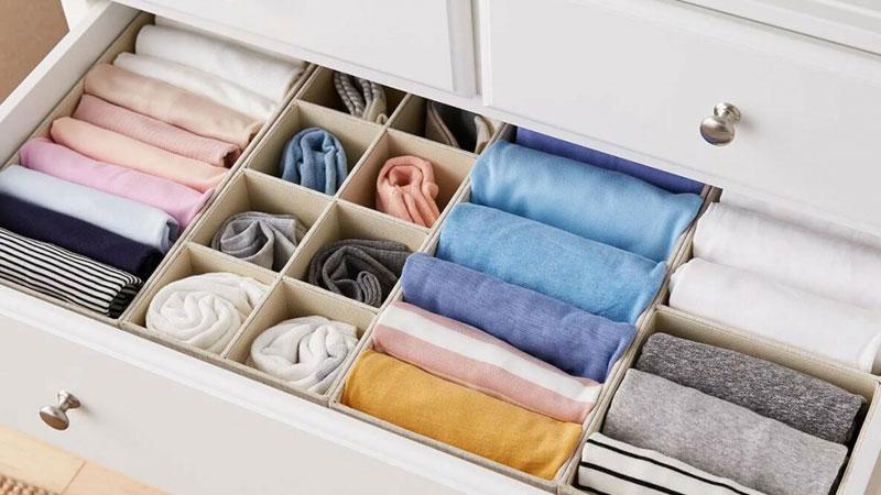 гардероб ящик порядок
